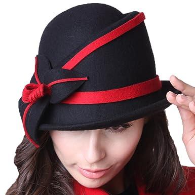 fdf3f0f1d June's Young Winter Hats Wool Felt Hats Cloche Hats