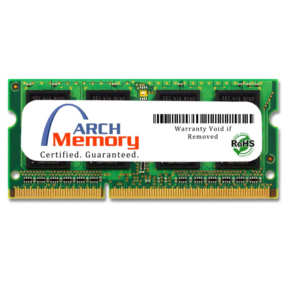 Memoria RAM 8GB Arch 204-Pin DDR3 So-dimm Replacement para CT102464BF160B