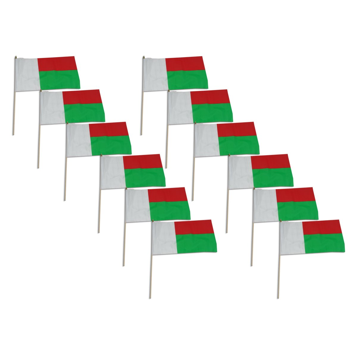 US Flag Store Madagascar Flag, 12 by 18-Inch Online Stores Inc. WMG1218HF