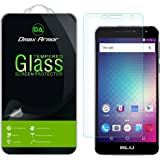 [3-Pack] Dmax Armor- BLU Studio XL 2 [Tempered Glass] Screen Protector with Lifetime Replacement Warranty