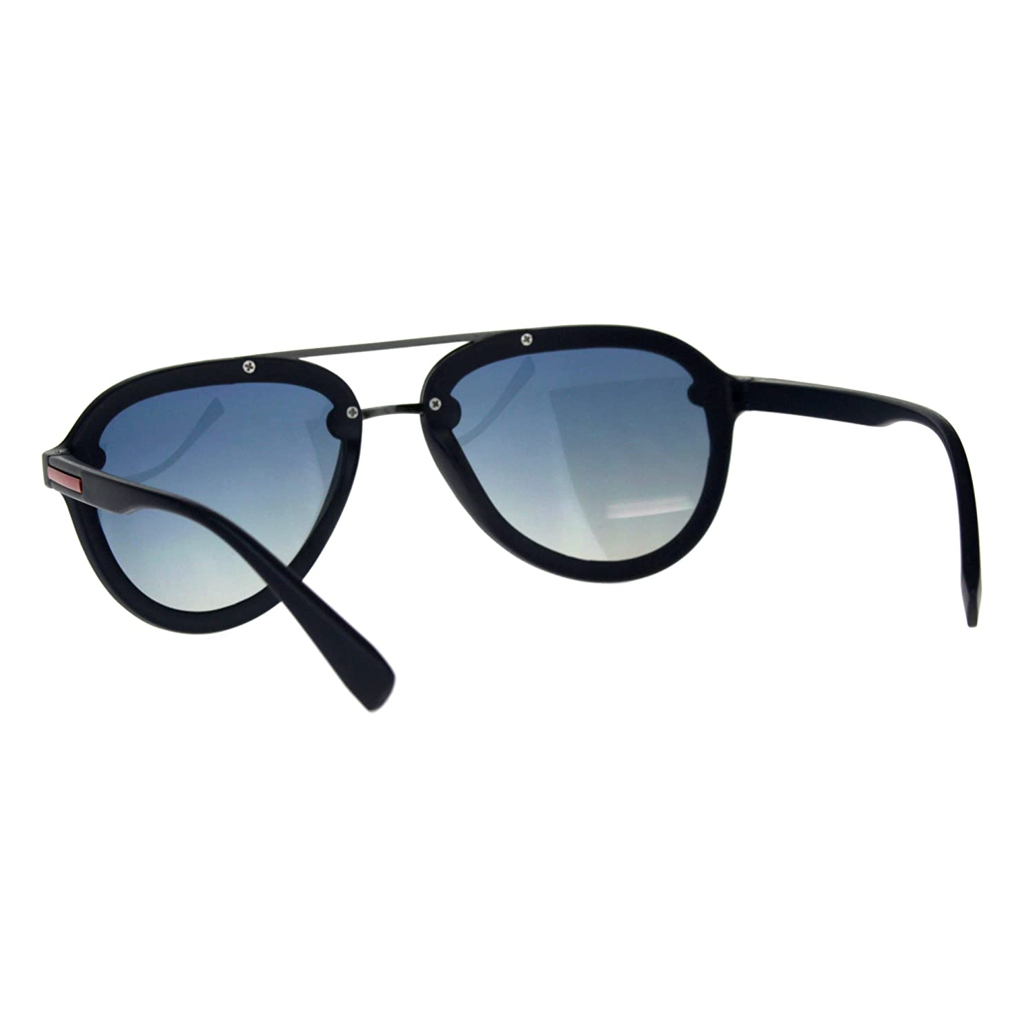 Exposed Edge Plastic Racer Mens Luxury Sunglasses