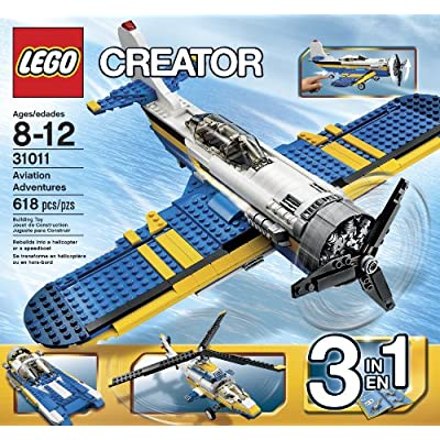 LEGO Creator 31011 Aviation Adventure, 618 pcs.: Toys & Games