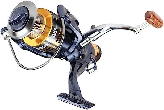 5000/6000 11BB Carretes de Spinning Rodamiento de Bolas Doble embrague trasera Arrastrar DAVANTI Bobina de Filatura Fermo Convertible para pesca, 6000: Amazon.es: Deportes y aire libre