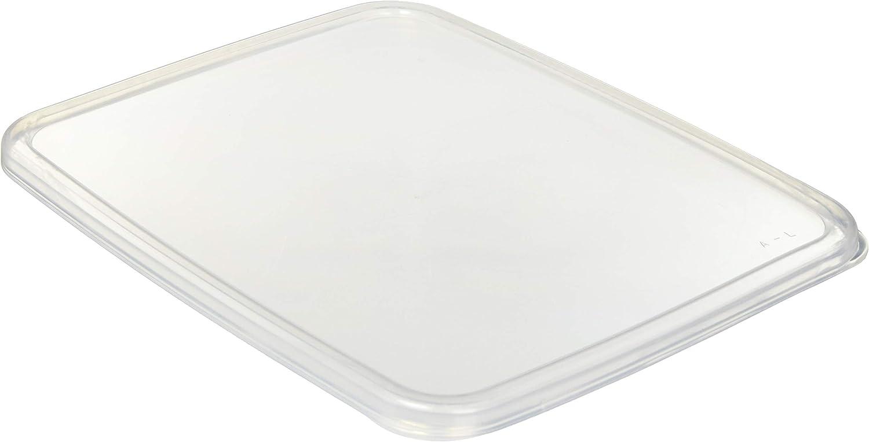 野田琺瑯 ホワイトシリーズ レクタングル浅型 L替え用シール蓋