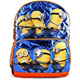 Despicable Me Minions Black 16 inch Backpack