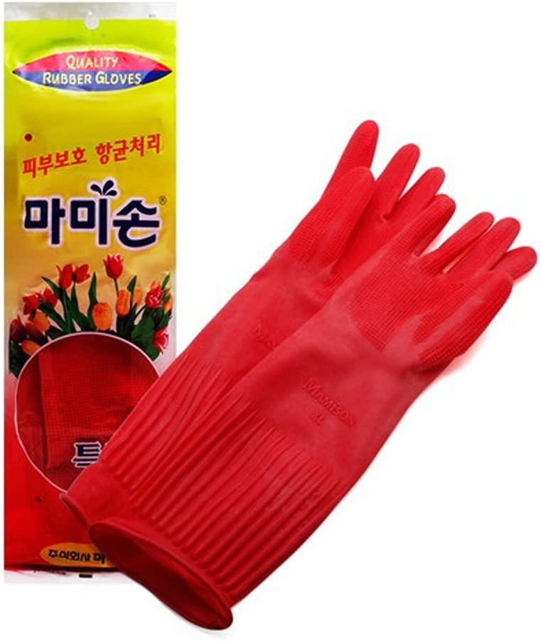 Mamison Quality Kitchen Rubber Gloves (1, XL)