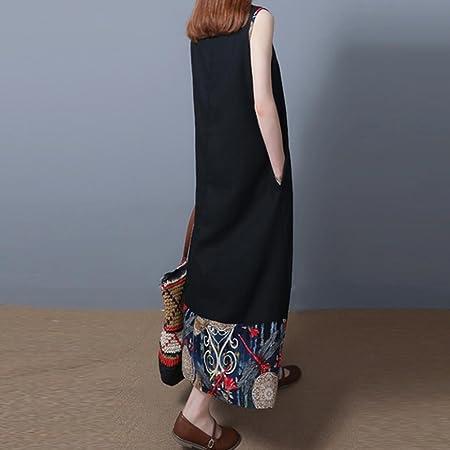 be93415420 Amazon.com  Hmlai Cotton Linen Dress