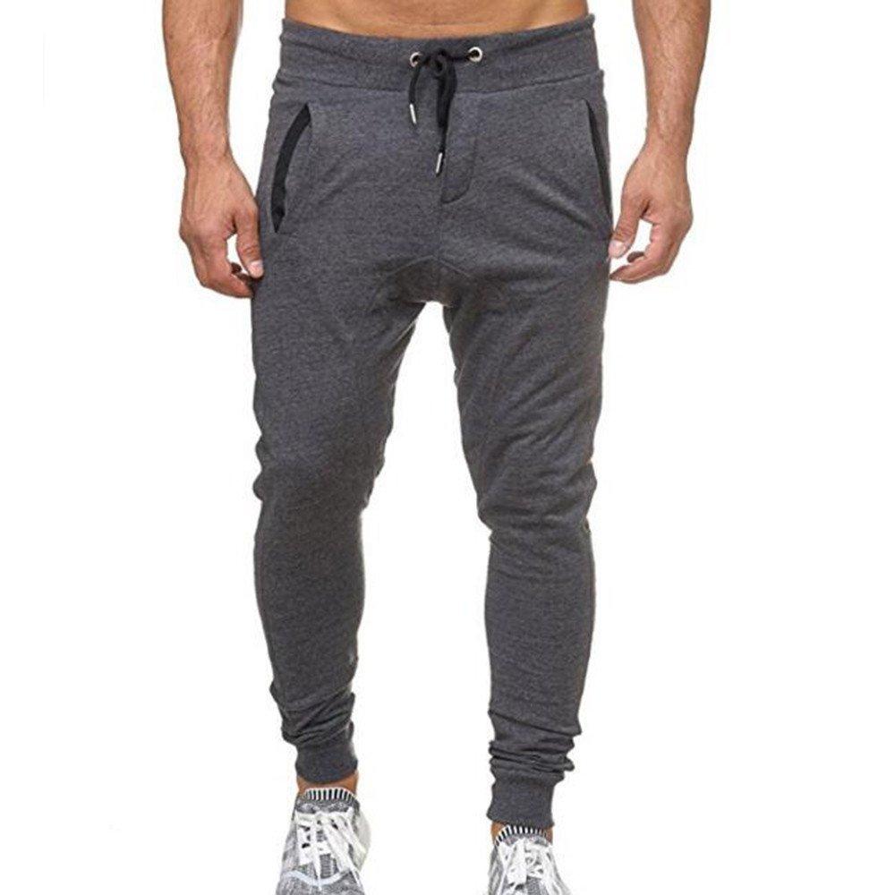 LILICAT Sweatpants Men Jogger Sweatpants Joggings Trousers Sportspants Slim-fit Mens Sweatpants Casual Trousers Tracksuit Fitness Loose Sweatpants Drawstring