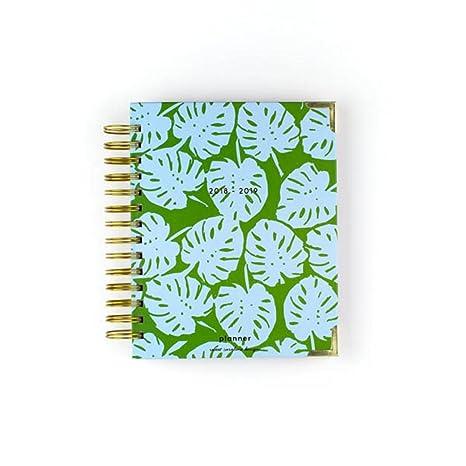 Amazon.com : Sweet Caroline Designs Blue Green Palm Planner ...