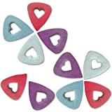 Felt Ukulele Picks,Guitar Picks Plectrums for Ukulele, Easy to Hold, Multi-color by Sportsvoutdoors[10 Pieces]