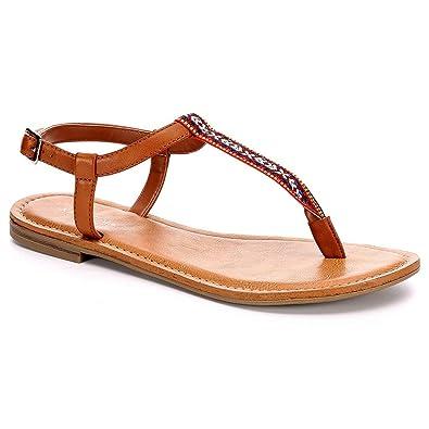 1976e11181e5 XAPPEAL Womens Coachella Flat Sandal Shoes