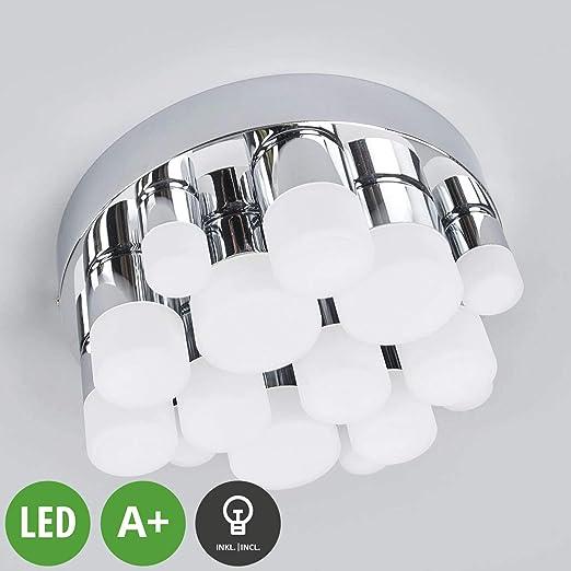 LED Lámpara de techo Sabina (Moderno) en Plateado hecho de ...