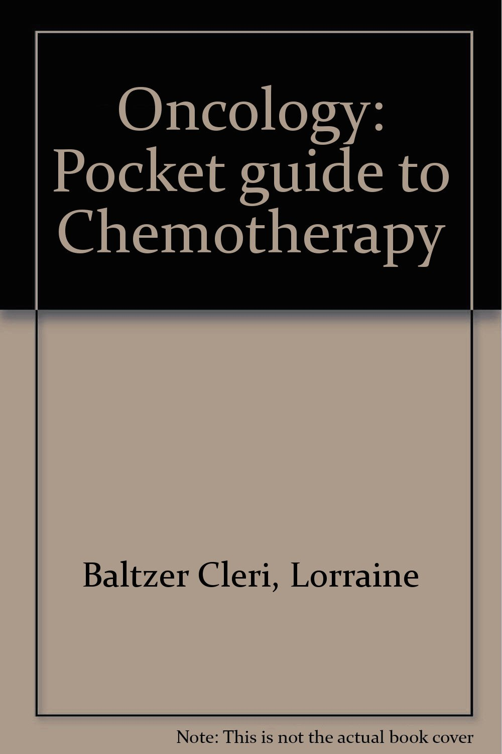 Oncology: Pocket guide to Chemotherapy PDF