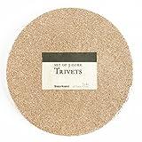 Round Cork Trivet 3-Pack
