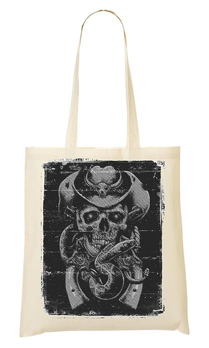 De Mano La Bolsa Bolso Vintage Awesome Cowboy Compra Skull Nk0wnOXP8