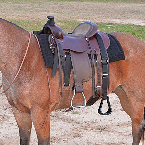 - CASHEL STEP UP STIRRUP EXTENDER for SADDLE no mounting block, Size: 52 inches