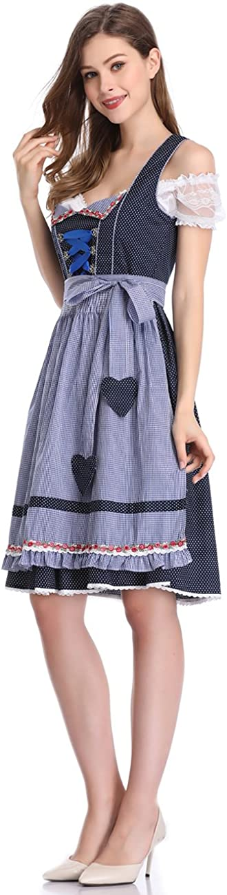 Amazon.com: Clearlove - Disfraz de tirolesa alemana para ...