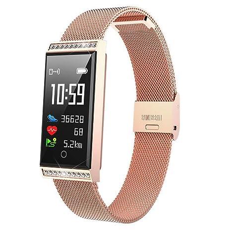 Smartwatch Reloj Inteligente, Pulsera de Reloj Pareja con 20 ...