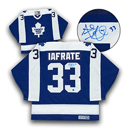 Image Unavailable. Image not available for. Color  Al Iafrate Autographed  Jersey ... 85fdcaf2e92