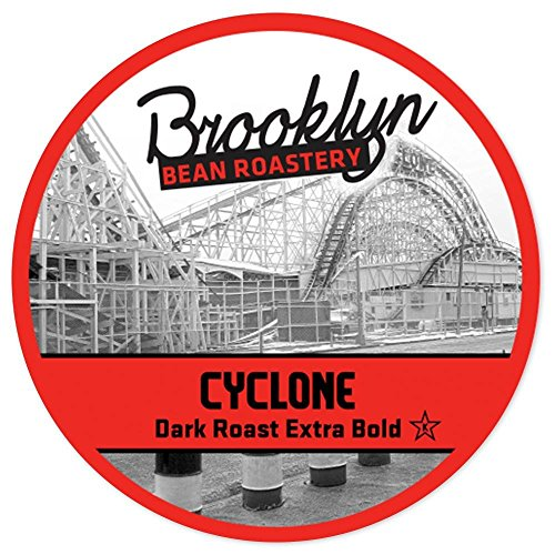 Brooklyn Beans Cyclone Dark Roast Single Serve Coffee -  24 Count - 2.0 Compatible