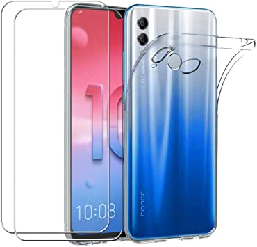 Meeter Funda Huawei P Smart 2019, Transparente Silicona Funda para ...