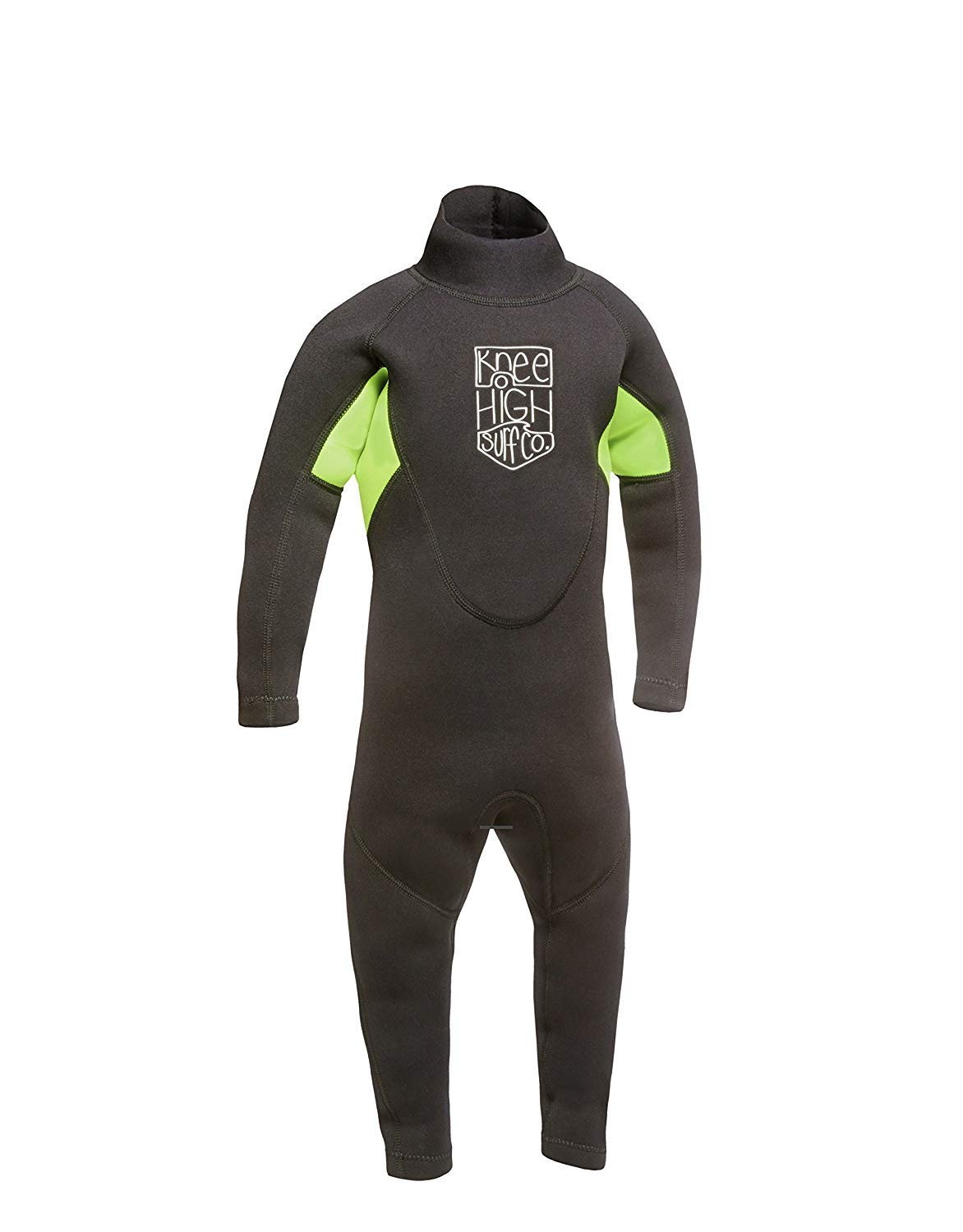 Knee High Surf Co. Kids Wetsuit Full Suit for Infant Toddler and Baby (X-Small-3mm)