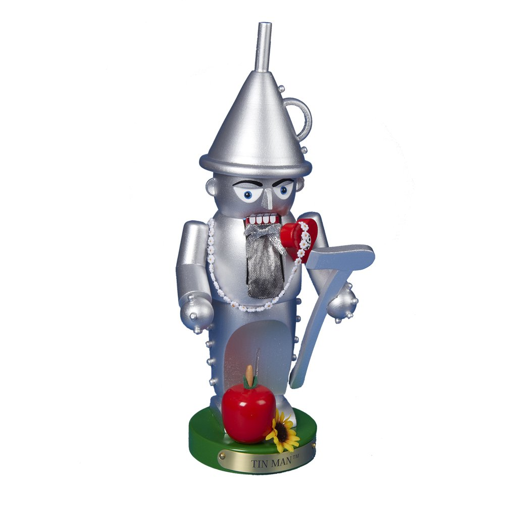 Kurt Adler Steinbach Chubby Wizard of Oz Tin Man Nutcracker, 12-Inch