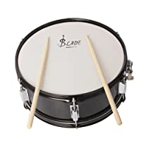 ammoon Professional Snare Drum Head 14 Inch with Drumstick Drum Key Strap for Student Band
