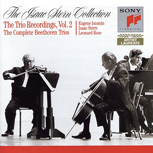 Beethoven- Piano Trios, Booklet 2: Opp. 1:1, 2, 3; 11; 44; 70: 1, 2; 97; 121a; WoO 38, 9 (Isaac Stern Collection- Trio Recordings, Vol. 2)