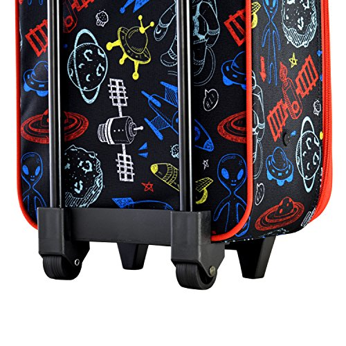 Olympia Kids 17 Inch Carry-On Luggage, Black, One Size by Olympia (Image #4)