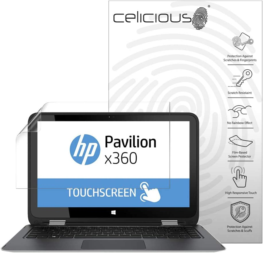 Celicious Privacy 2-Way Anti-Spy Filter Screen Protector Film Compatible with HP Pavilion x360 13 S108NA