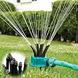 New Lawn Garden Yard Sprayer Sprinkler Accurate Noodlehead With Stand