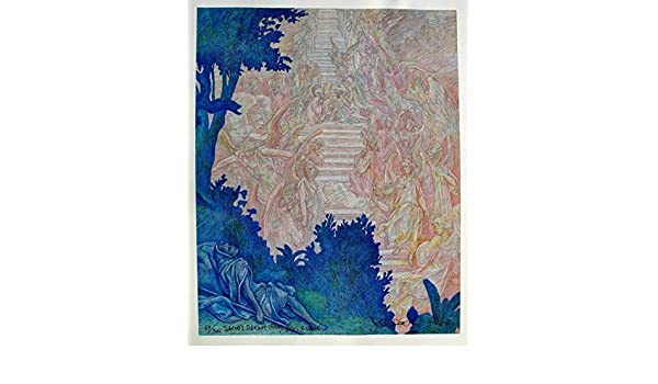 DORE Hand Signed Art Giclee on Canvas Guillaume Azoulay JACOB/'S DREAM D