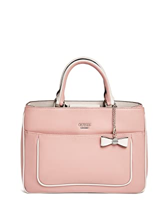 176273ae82 Guess Factory Women s Scenic Two-Tone Satchel  Amazon.co.uk  Clothing