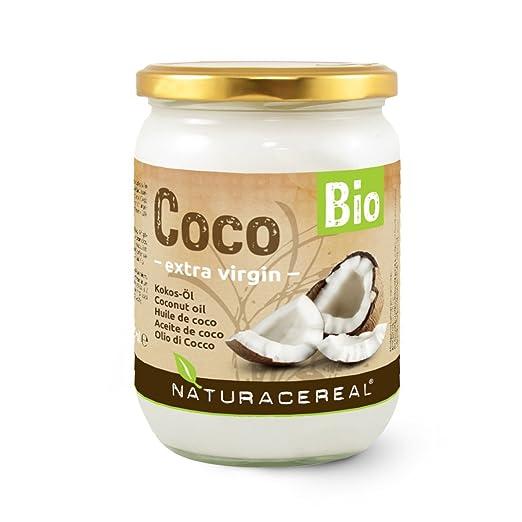 27 opinioni per Olio di Cocco Bio 500ml- NATURACEREAL- alta qualità- perché si vuole vivere in