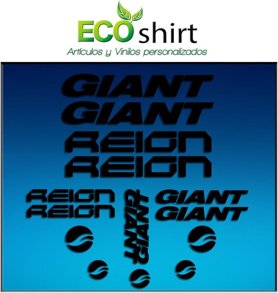 O8-EZYF-IMQG Black Frame Giant Reign Am30 Stickers Aufkleber Decals Adesivi Bike BTT MTB Cycle Ecoshirt