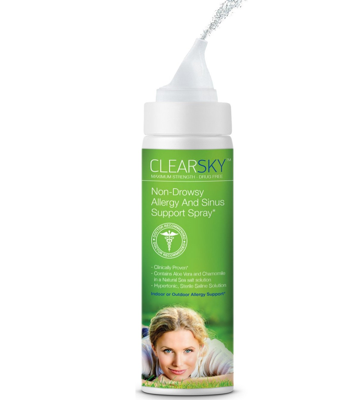 Clearsky Saline Nasal And Sinus Spray 24 Hour Natural Allergy Support