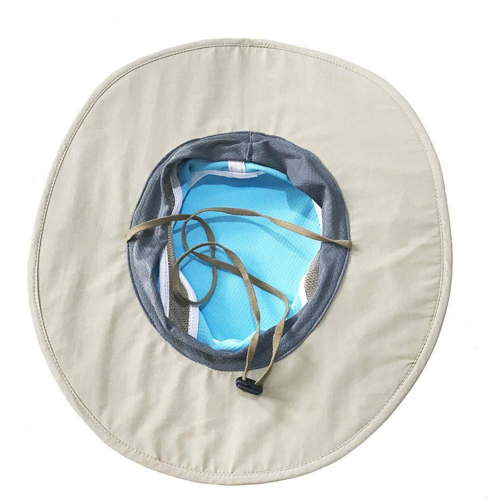 per attivit/à allAria Aperta per Uomini e Donne Pesca Escursioni Cappello da Sole con Protezione dal Calore e dai Raggi UV winnerruby Boonie Hat Wide Brim Campeggio