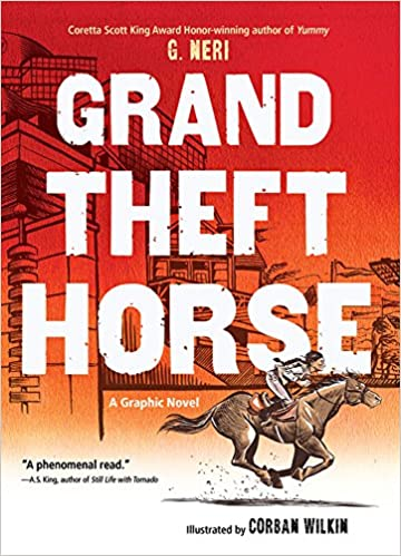 Cover art for the book entitled Grand Theft Horse