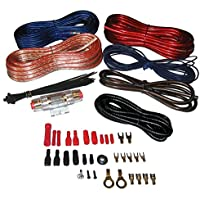 Pyle Plmrakt8 Marine Grade 8 Ga Amplifier Amp Wiring Kit 8 Gauge