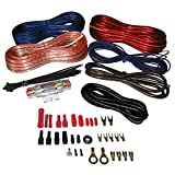 PYLE PLMRAKT8 MARINE GRADE 8-GAUGE AMPLIFIER INSTALLATION KIT