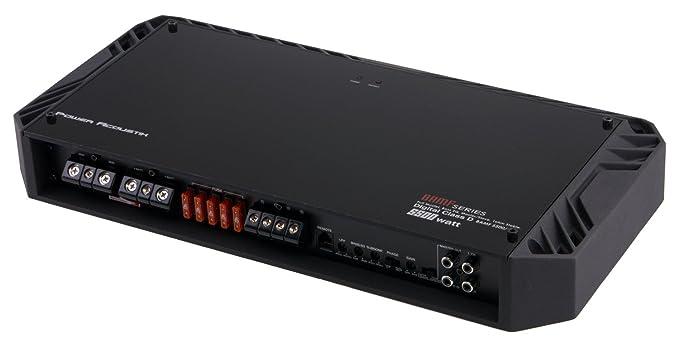 Acoustik BAMF5500/1D Monoblock 5500 Watts Class D BAMF Series Amp Subwoofer Mono Block 1