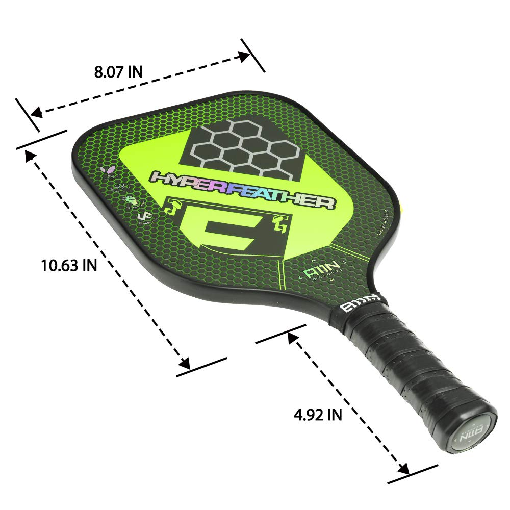 Amazon.com: A11N Premium Pickleball Paddle - Núcleo de panal ...