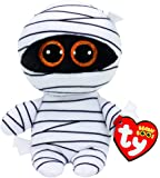 Ty Beanie Babies Boos 37234 Mummy the White Mummy Halloween Boo