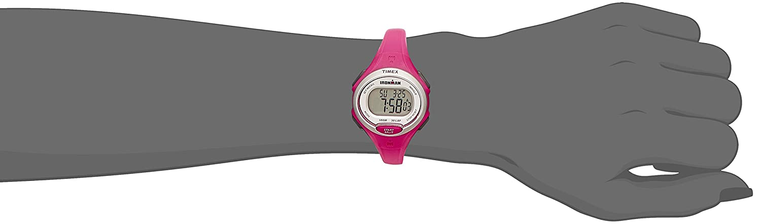 Amazon.com : Timex Ironman Essential 30-Lap Watch - Pink : Sports & Outdoors