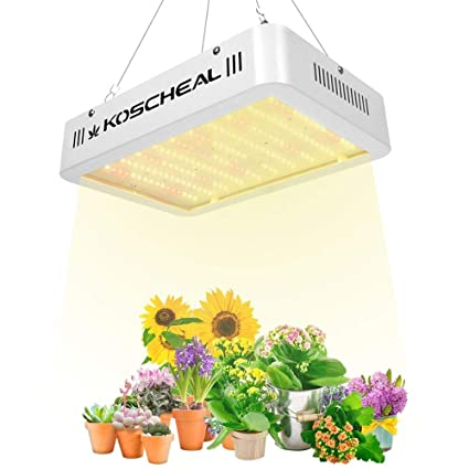 Led Grow Light 600w Koscheal Sunlike Full Spectrum Grow Lamp With Daisy Chain 2nd Generation Plant Light White Led With Uv Ir For Hydroponics Indoor