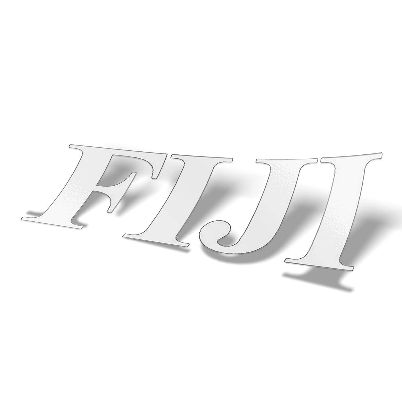 Gamma Phi Beta WHITE Monogram w// No Boarder Sticker Outside Car//Computer