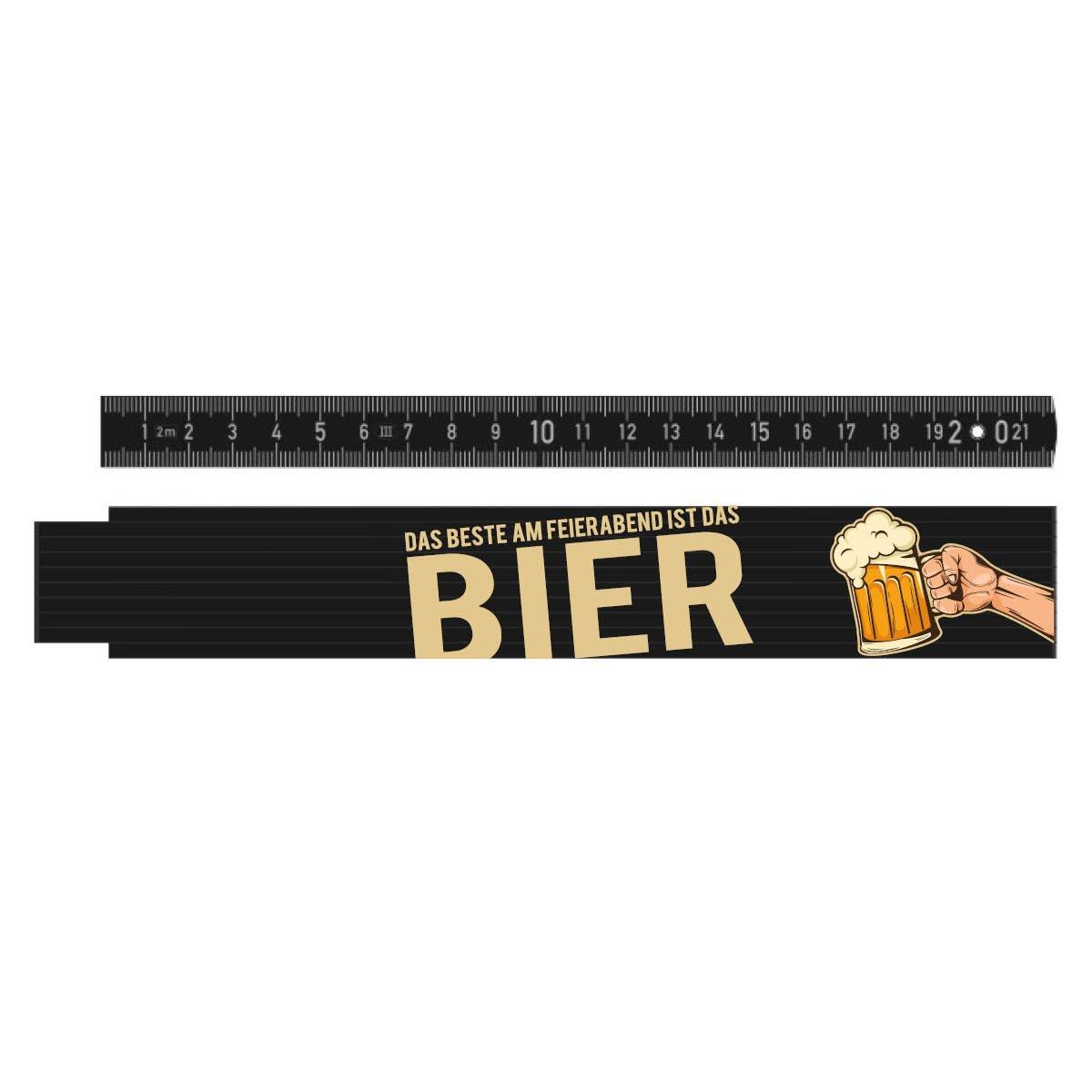 L/änge 2 Meter Deutscher Markenhersteller Motiv:Motiv 01 Meterstab//Zollstock bedruckt mit Motiv als Geschenk Top Qualit/ät auch f/ür Handwerker