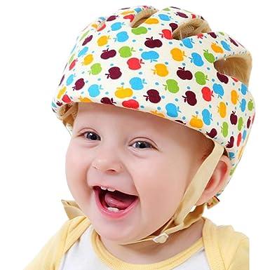 Mütze Jungen 38-40 Kopfschutz zum Binden