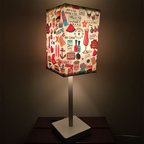 Nutcase Designer Table Lamps With FREE BULB   Teen Kids Room Lamp   Tall  Lamp